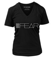 Fuck FEAR Vintage Women's T Shirt