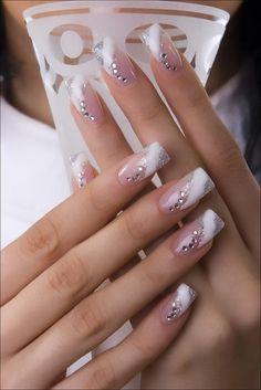 Wedding manicure - 50 ideas