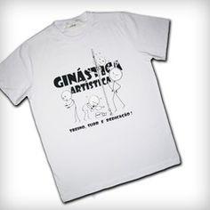 Camiseta Branca Treino, Suor e Dedicação