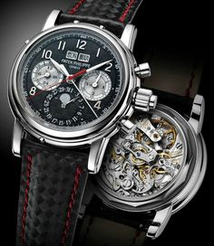 Patek Philippe Titanium 5004T Watch - Sold for 2,950,000.00 EUR at the Only Watch 2013 Auction. One of A Kind Watch
