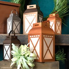 Paper Garden Lanterns - Lia Griffith