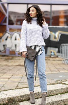 Topshop Mom Jeans momjeans review erfahrung highwaist boyfriend jeans karottenhose retro vintage streetstyle mom jeans outfit samieze blogger blog look