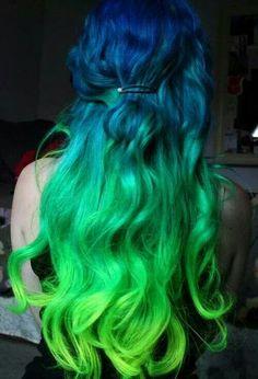 I adore ombre hair