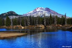 South Sister and Sparks Lake, Oregon
