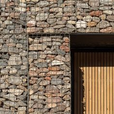 Haverstock uses stone-filled cages to disguise police shooting range in disused quarry