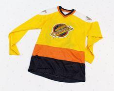 Vancouver Canucks Jersey for Kid Vintage Hockey Jersey San Jose Sharks, Vancouver Canucks, Hockey, Basketball, Premier League, Nascar, Nhl, Vintage Children, Football