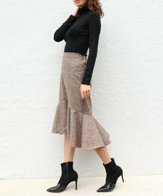 【ZOZOTOWN】AMBIENT(アンビエント)のスカート「チェックマーメイドスカート」(CQWI0429)を購入できます。