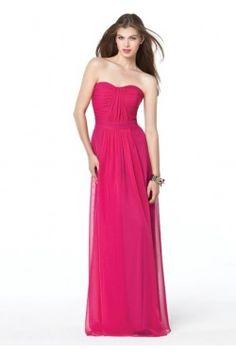Hot Pink Bridesmaid Dress Formal Style! Hot Pink Bridesmaid Dress Classy Style!