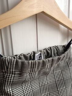 Tyúkláb mintás Csecsemőpantalló / koraszülött - újszülött méret / fekete, fehér, kockás, baba, nadrág , Baba-mama-gyerek, Ruha, divat, cipő, Gyerekruha, Baba (0-1év), Meska Baba, Clothes Hanger, Coat Hanger, Clothes Hangers, Clothes Racks