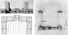 Figure 2 - Loos's design for The Horticultural Association Grounds in Vienna