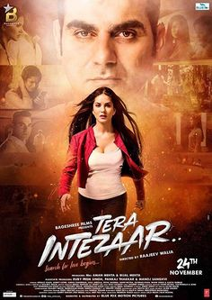 Tera Intezaar is an upcoming 2017 Bollywood musical romantic film, directed by Raajeev Walia and produced by Aman Mehta and Bijal Mehta. The film stars Arbaaz Khan and Sunny Leone in lead roles. Free Films Online, Watch Free Movies Online, Movies Free, Top Movies, Watch Movies, Free Movie Downloads, Full Movies Download, Movie Ringtones, Romantic Films