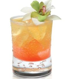 Hula Dancer Summer Cocktail Recipe 2/3 oz.   SKYY Infusions Pineapple Vodka 1/2 oz. vanilla rum 1 oz. lychee puree Splash of   fresh lemon juice 3 oz. pineapple juice Grenadine  Shake with ice and strain   into a rocks glass, then add a little Grenadine for that gorgeous pink color.   Garnish with floating orchid or a drink umbrella.