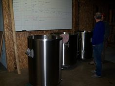 A 3-barrel (BBL) system like the one that will make Riff Raff's beer. Our system will make it to Pagosa Springs in March 2013.