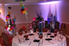 New York Theme complete with centerpiece, Central Park with NY skyline