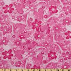 Timeless Treasures Breast Cancer Awareness fabric