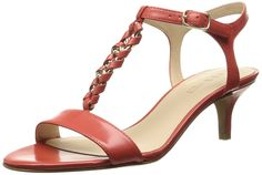 Nine West Women's Yocelin Leather Dress Sandal >>> More info could be found at the image url.
