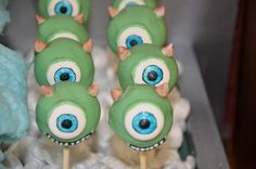 Mike Wazowski! by Kiss And Bake Up, via Flickr