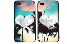 Paradise BEST FRIENDS bff Case / Summer iPhone 4 by KasiaKases, $22.99