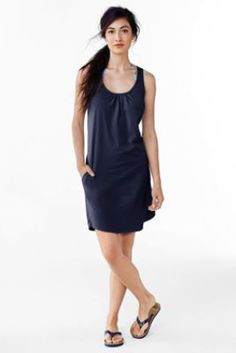 Women's Petite Cotton Jersey Cover-up