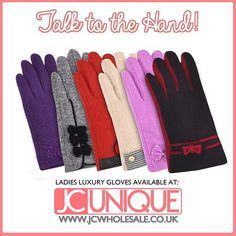 JC Wholesale provides 10% discount offer for our entire Customer on all order over £250. Offer ended on 27th May. Hurry Purchase now and get discount. Enter code 4015 at checkout time. Visit http://www.jcwholesale.co.uk New #Design #Ladies Wool #Gloves with a#lovely free #gift box. #glove #ladiesgloves #women #womengloves #girlgloves #girlsglove #woolgloves #woolglove #online #trending #unique #quality #2015handbags #ladieshandbags #womenhandbags #glamorous #cheap #best #affordable