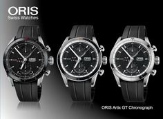 Oris Swiss made watches. Over 100 years Oris has been making watches in Switzerland. Our watches are purely mechanical and are marked out by their distinctive design as well as the red rotor, the symbol of Oris mechanicals. Oris watches are also popular, as celebrities from Formula One, diving, jazz, aviation, and Hollywood queue up to wear and support our unique creations. Available at www.chronowatchcompany.com