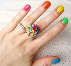 Colorful Nails can never go out of trend. #ColourToLife