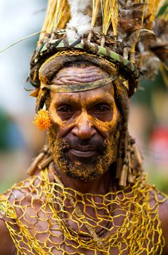 Peuple tribal Nouvelle Guinée