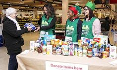 UK embarks on biggest food drive since second world war. The Trussell Trust blames benefit delays, low pay, rising living costs and the so-called bedroom tax for a tripling in food bank use over the past year.  The retailer, which will top up the total value of food donated by 30%, said it will not profit from the extra food sales. A previous food drive over two days in July raised the equivalent of 2.5m meals, it says. A Trussell Trust family food parcel will provide 10 meals over three…