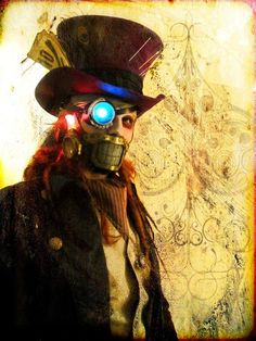 A little to scary for our production, but you get an idea of steampunk.