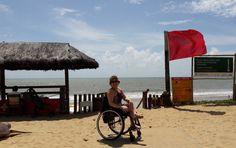 Acessibilidade no Iberostar Bahia. Praia do Forte, perto de Salvador. http://cadeiravoadora.com.br/acessibilidade-no-iberostar-bahia/