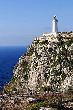 #Lighthouse - El Pilar de la Mola, Formentera Island, Balearic Islands, #Spain, Europe http://dennisharper.lnf.com/