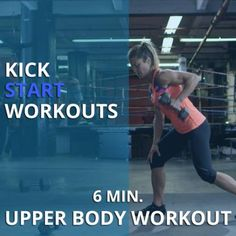 If you've never done a Holly Rilinger workout, this is a good one to start with. She's seriously tough but the workouts are short and you see results fast. #kickstart