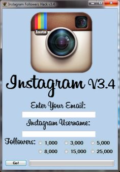 25,000 Free instagram followers hack