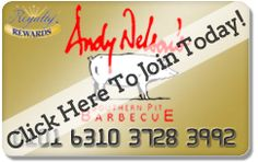 Andy Nelson's Barbecue Restaurant | Welcome to Andy Nelson's NEW Restaurant Website!