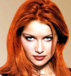 Orange Carrot Hair Color Trends 2017