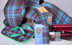 We have the worlds largest range of Anderson clan crest and tartan merchandise - direct from Scotland to your home - buy today and support Scotlands traditional crafts