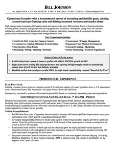 coo resumes