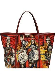 DOLCE & GABBANA - MEDIUM ESCAPE PRINTED CANVAS BAG - LUISAVIAROMA - LUXURY SHOPPING ENVIO EN TODO EL MUNDO- FLORENCIA