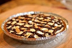 ice cream pie-miss...never again!!! could not cut into crust..melting mess..