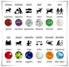 100% Real Gemstones Genuine Magical Gems Healing Chakras Zodiac Gemstone Rings Healing Properties Of Gemstones Birthstone Jewelry