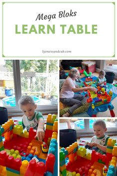 [Ad] Looking for a play table that can also store your kiddo's Mega Bloks while providing a race track and a ground for building castles? My son has lots of fun with this learn table. You can fold the legs inward to make it flat for storage. It's quickly set up and light to be carried around to wherever your kid wants to build... Play Table, Fabric Storage, Toddler Toys, Fine Motor Skills, Castles, Track, Legs, Flat, Learning