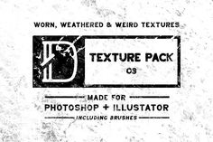 Texture Pack 03 - Brushes Graphics **This is Texture Pack Quickly add texture to your photoshop or illustrator projects. These are by Dylan Roop Design Co. Business Brochure, Business Card Logo, Texture Packs, Photoshop Illustrator, Free Graphics, Band Merch, Photoshop Brushes, Creative Sketches, Paint Markers
