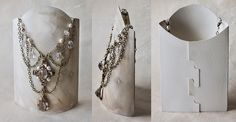 Card paper jewellery stand - Free Pattern | Flickr - Photo Sharing!