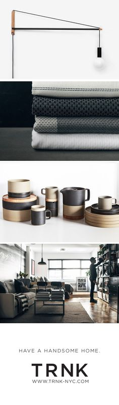 Inspired products and inspiring stories. Visit TRNK and have a handsome home! www.trnk-nyc.com