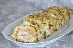 Potatoes rolled with smoked salmon and blue cheese No Salt Recipes, Baby Food Recipes, How To Make Dough, Food To Make, Fun Cooking, Cooking Recipes, Fermented Bread, French Desserts, Home Food