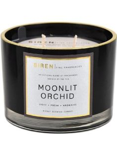 Moonlit Orchid Scented Large Double Wick Candle ❤ Decoware