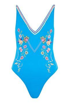 1e854de824545 River Island Black floral print strappy bikini bottoms ( 19) ❤ liked on  Polyvore featuring swimwear
