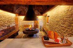 Sala de estar-comedor casa rural Lleida