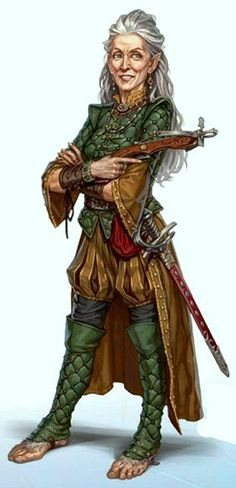 Pancost, Ryan - Molly Mayapple- Halfling or Dwarf War Veteran [F- 'Pathfinder Adeventure- Path Dance of Damned']