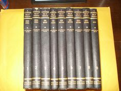 A Picturesque Tale of Progress, vol. 1-9, 1935 Hardcover